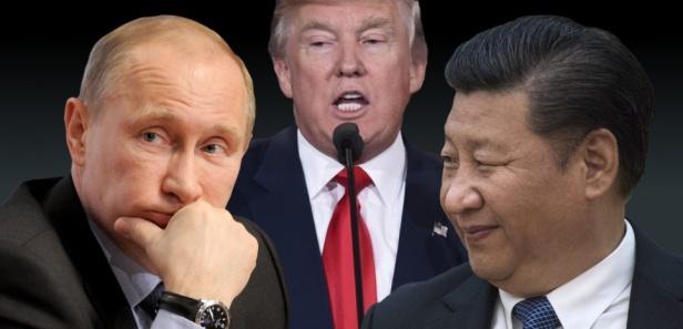 Poutine Trump Xi Pano