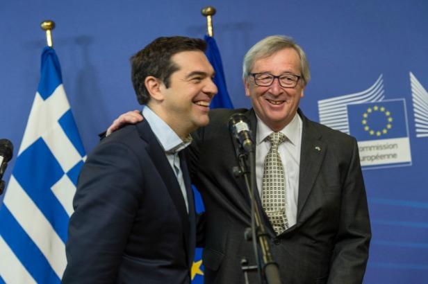 Alexis Tsipras & Jean-Claude Juncker