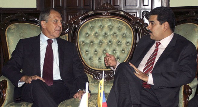 Lavrov et Maduro