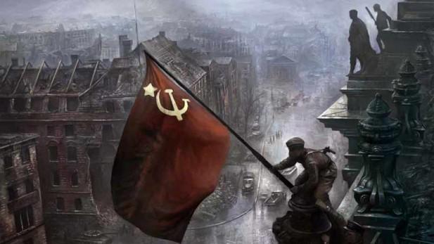 Victoire URSS sur Allemagne naziz